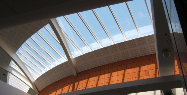 Segmented monopitch rooflight