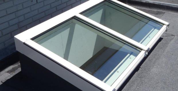 Monopitch rooflight in Voorthuizen